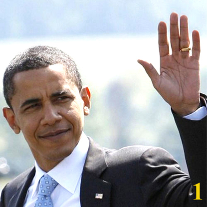 PDC hand reading: the hands of Barack Obama.